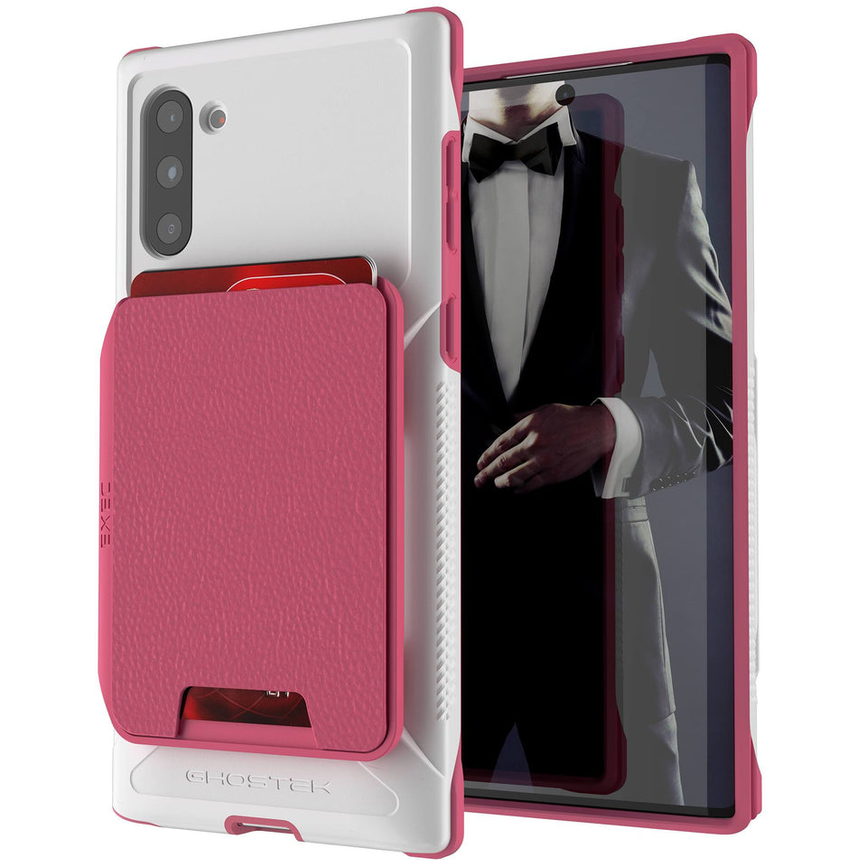 Galaxy Note 10 Pink Wallet Case
