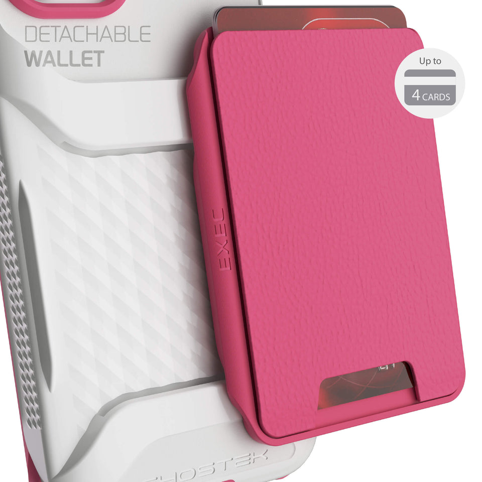 iPhone 12 mini Pink Wallet for Women