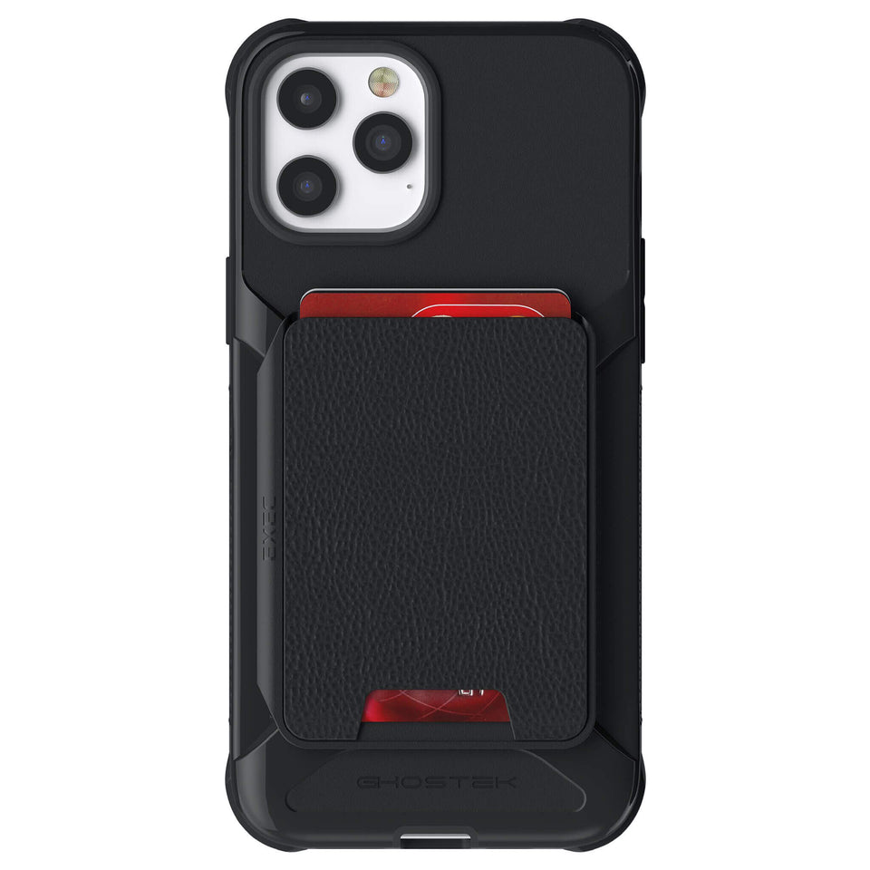 iPhone 12 Pro Max Black Magnetic Wallet