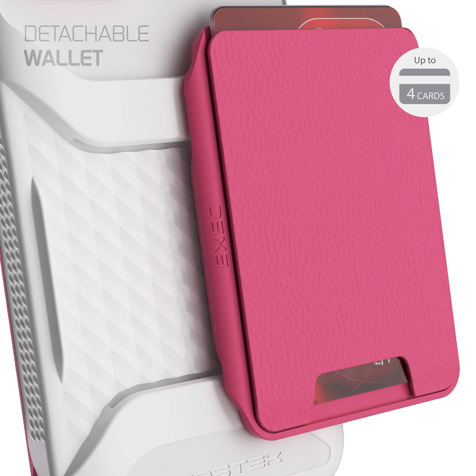 iPhone 12 Pro Max Pink Wallet Case for Women