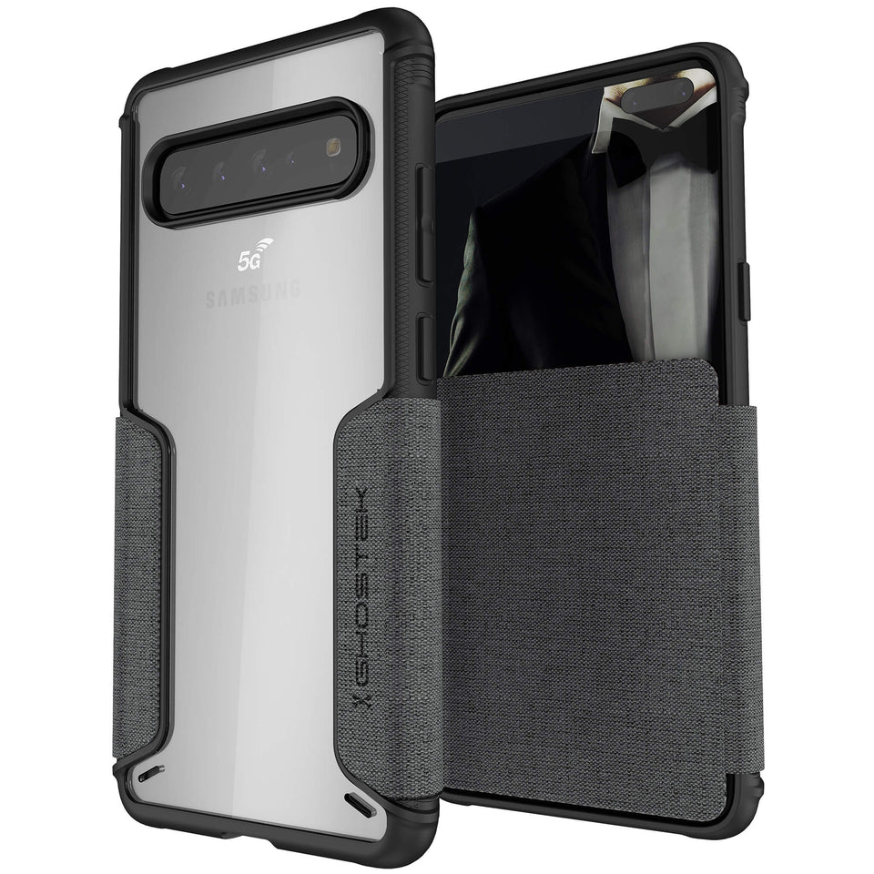 Galaxy S10 5G Black Wallet Case