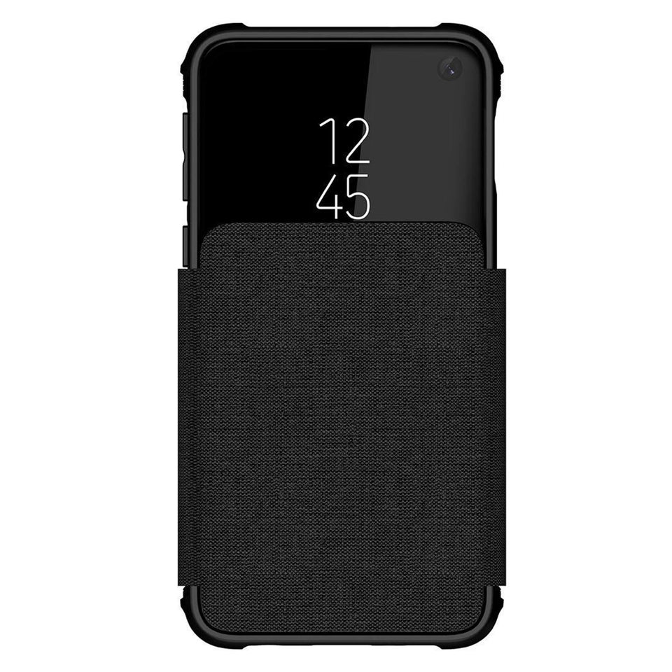 Galaxy S10e Black Wallet Case