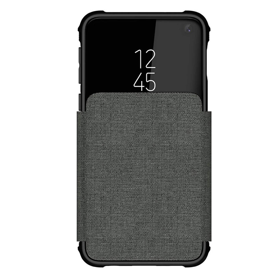 Galaxy S10e Gray Wallet Case