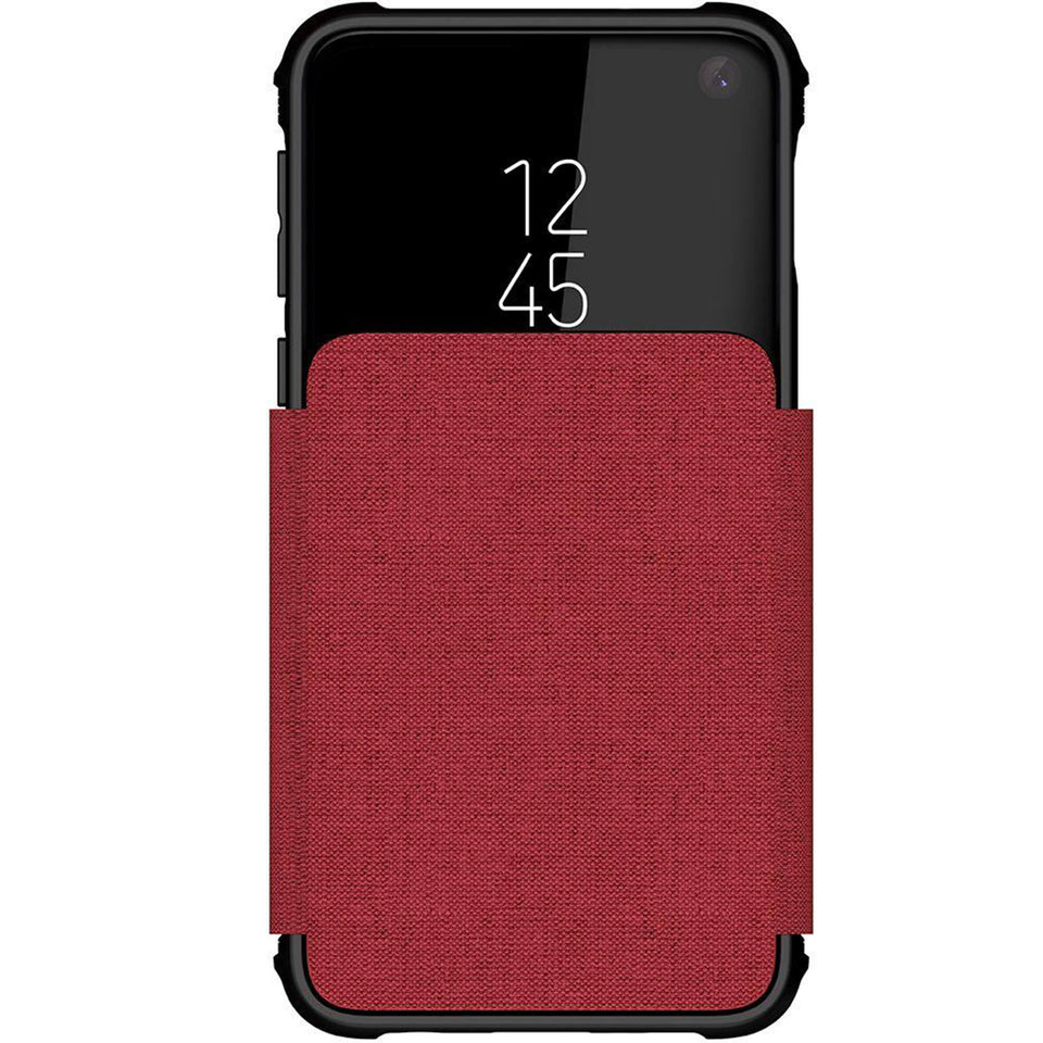 Galaxy S10e Red Wallet Case