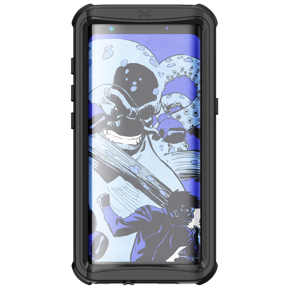Galaxy S8 Plus Black Waterproof Case