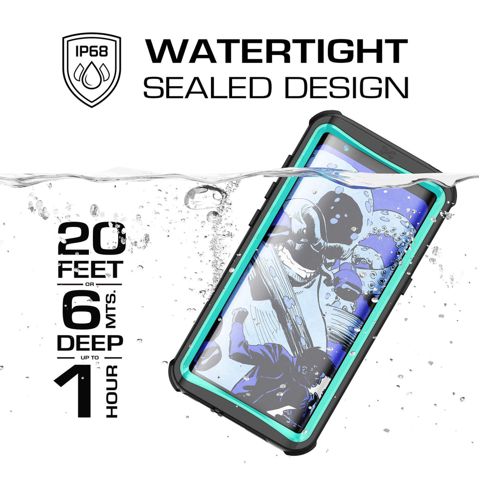 Galaxy S8 Teal Waterproof Case
