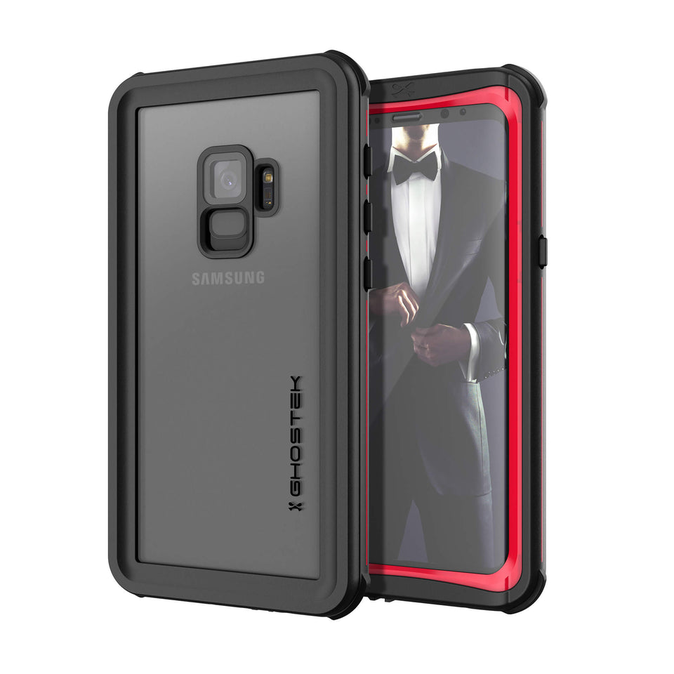 Galaxy S9 Red Waterproof Case