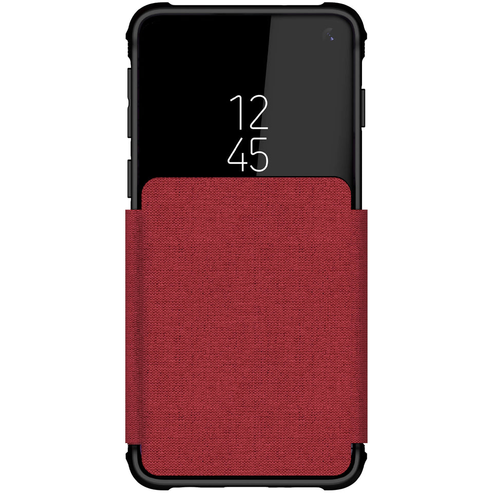Galaxy S10e Leather Wallet Case