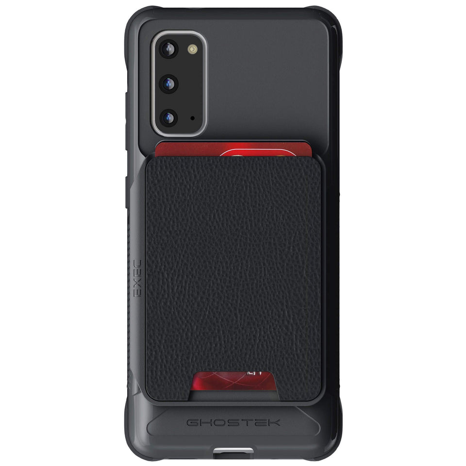 Galaxy S20 Black Wallet Case with Card Holder Magnetic