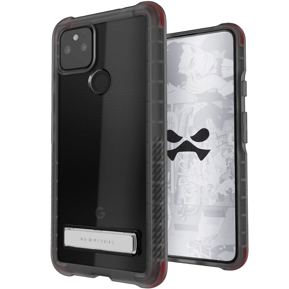 Pixel 4a 5G Black Kickstand Phone Case