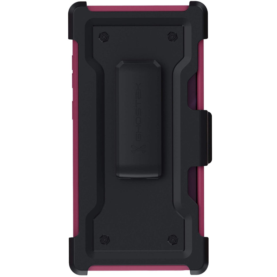 Pink Note 10 Plus Belt Clip Case