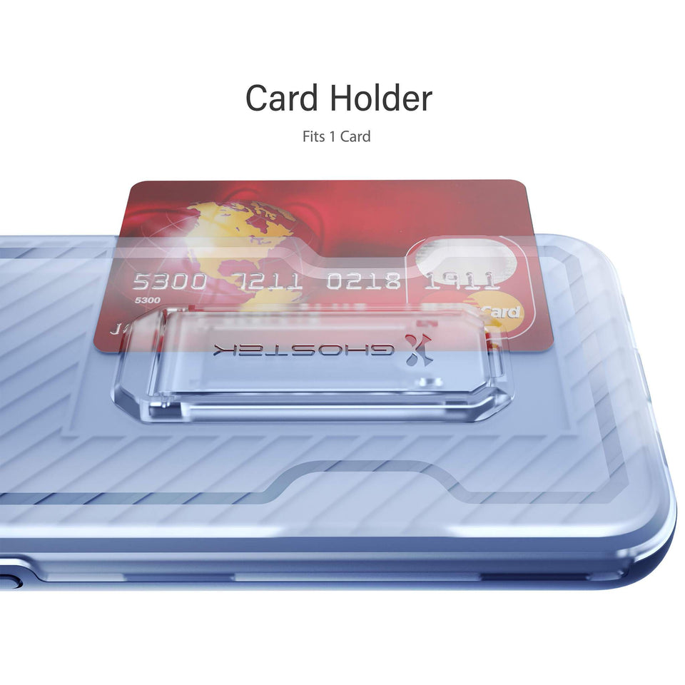 iPhone 11 Pro Max Blue Cardholder Phone Case
