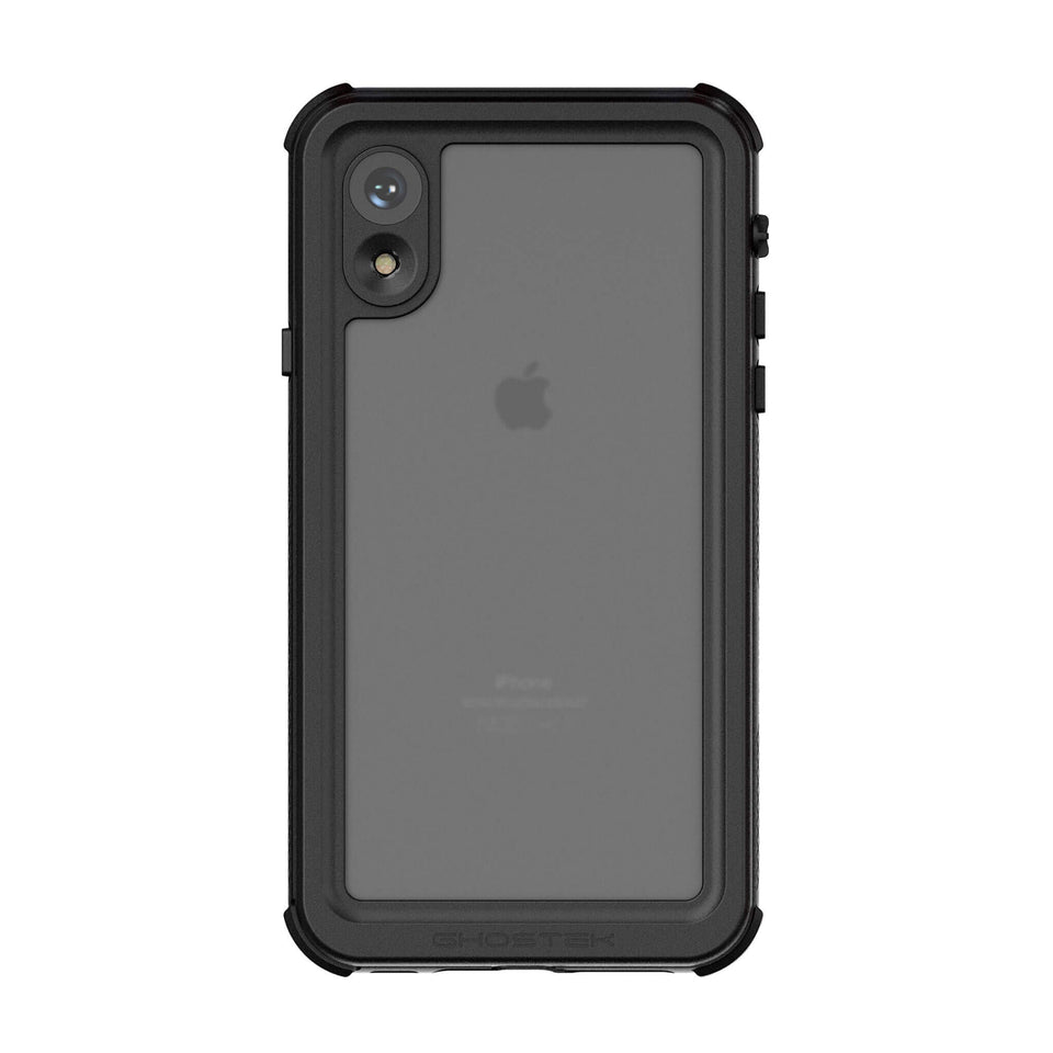 iPhone XR Black Waterproof Case