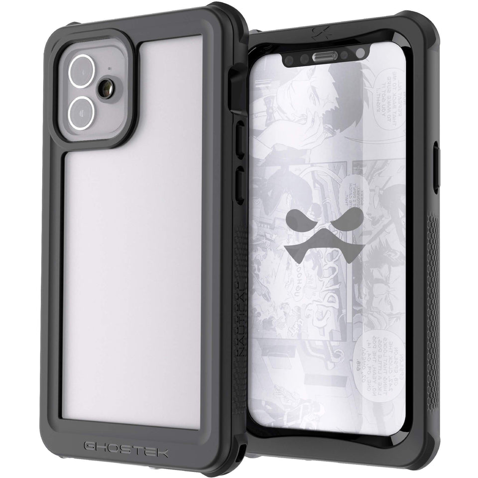iPhone 12 mini Clear Waterproof Phone Cases