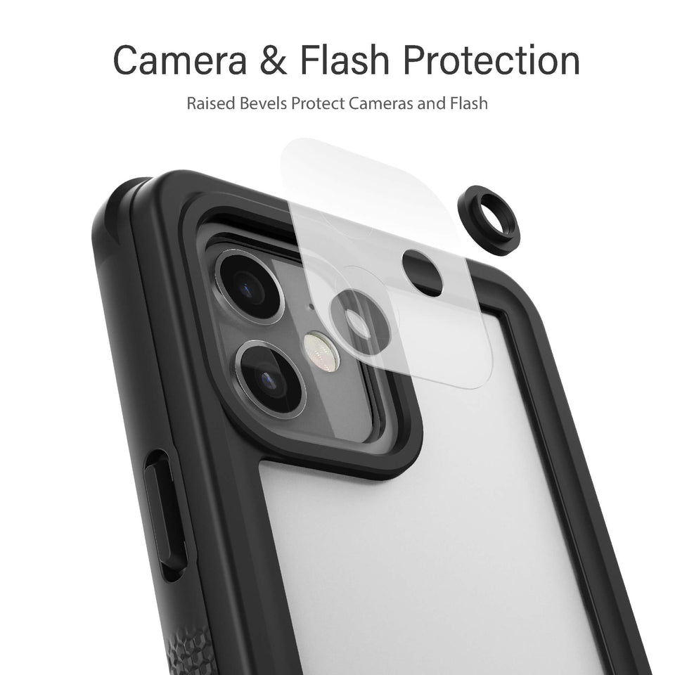 iPhone 12 Mini Waterproof Case Dustproof Dirtproof