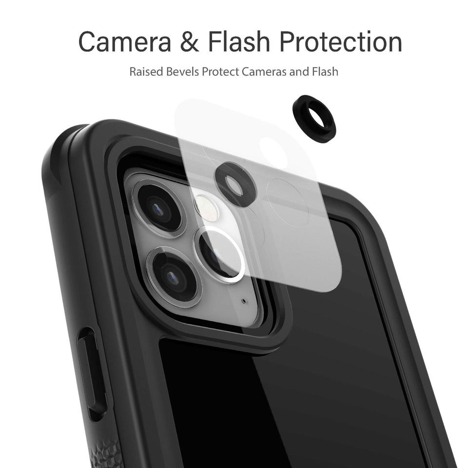 Heavy Duty iPhone 12 Pro Waterproof Cases