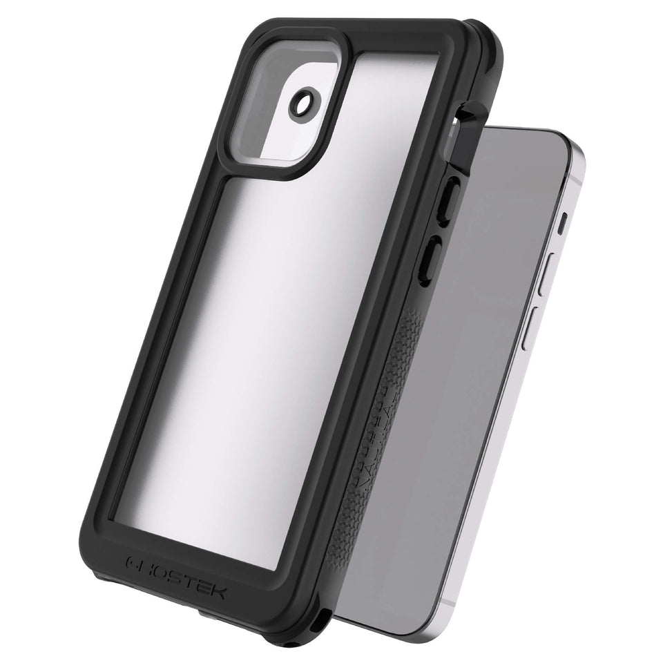 iPhone 12 Waterproof Case with Camera Lens Cover