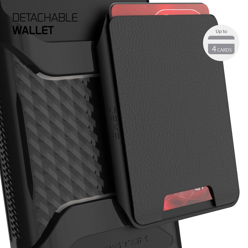 Note 20 Black Wallet Case
