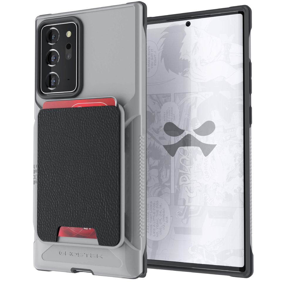 Note 20 Ultra Gray Wallet Case