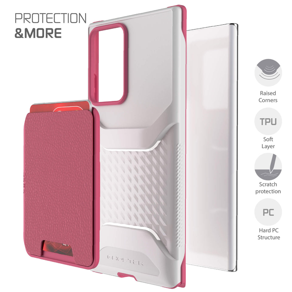 Note 20 Ultra Pink Wallet Case