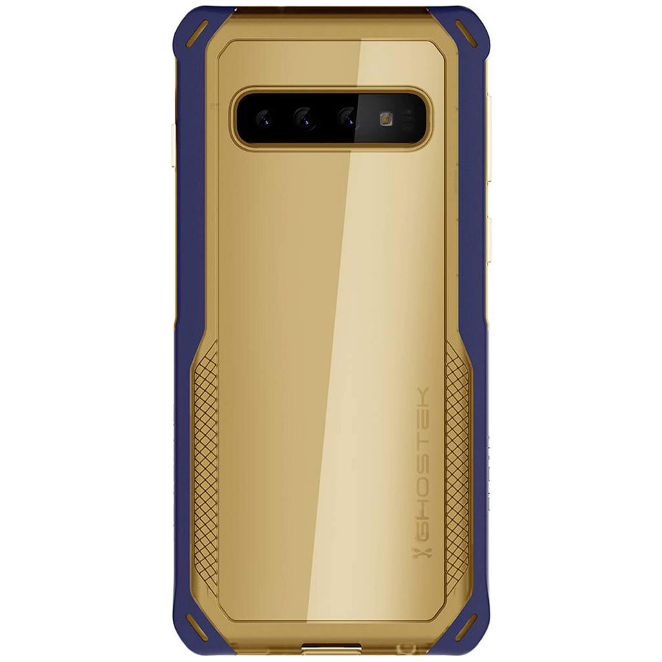 Galaxy S10 Blue Gold Phone Case