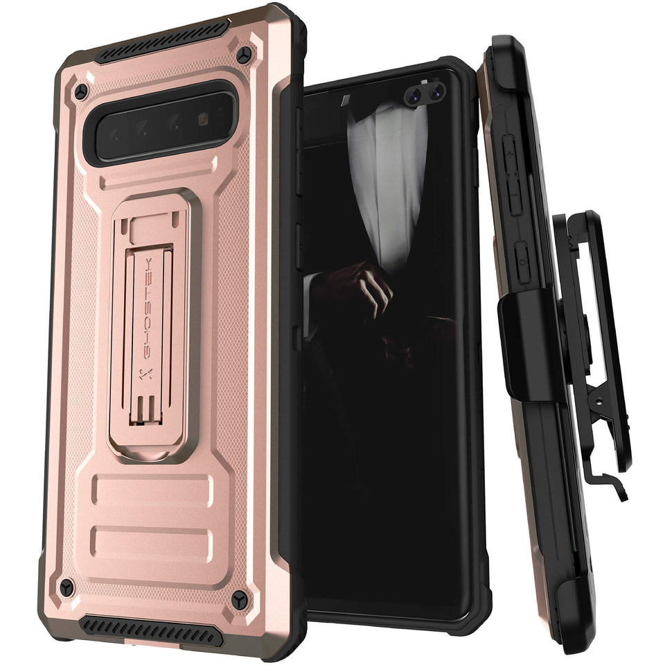 Galaxy S10 Plus Pink Belt Clip Case