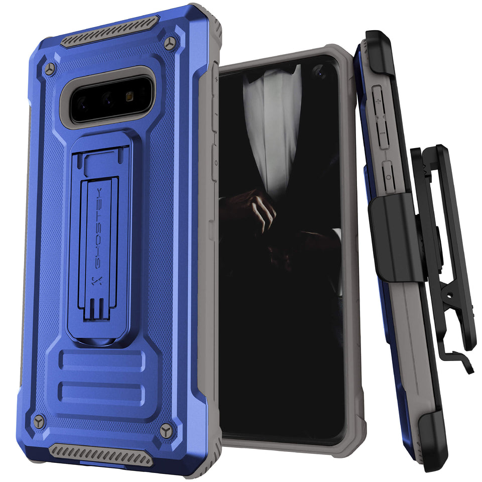 Galaxy S10e Blue Belt Clip Case