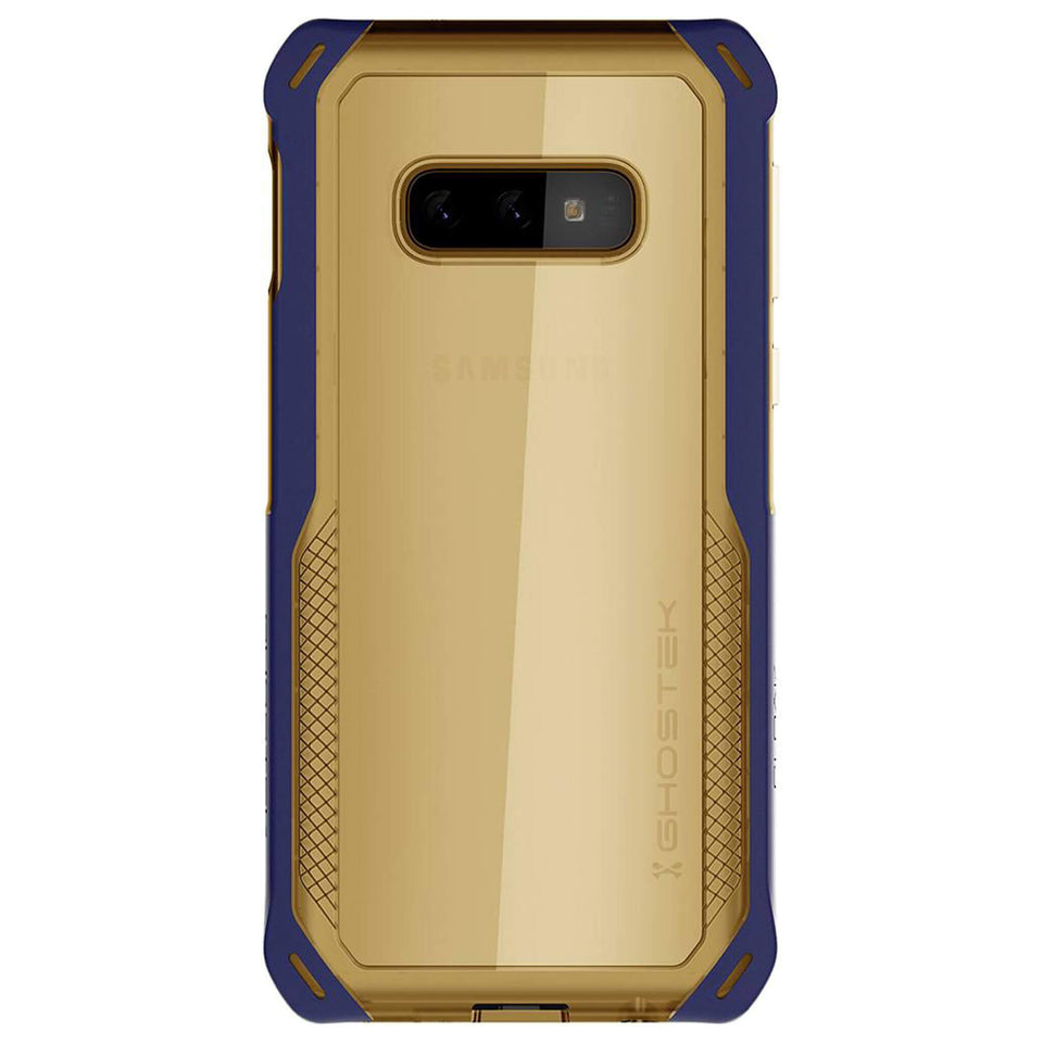 Galaxy S10e Blue Gold Case