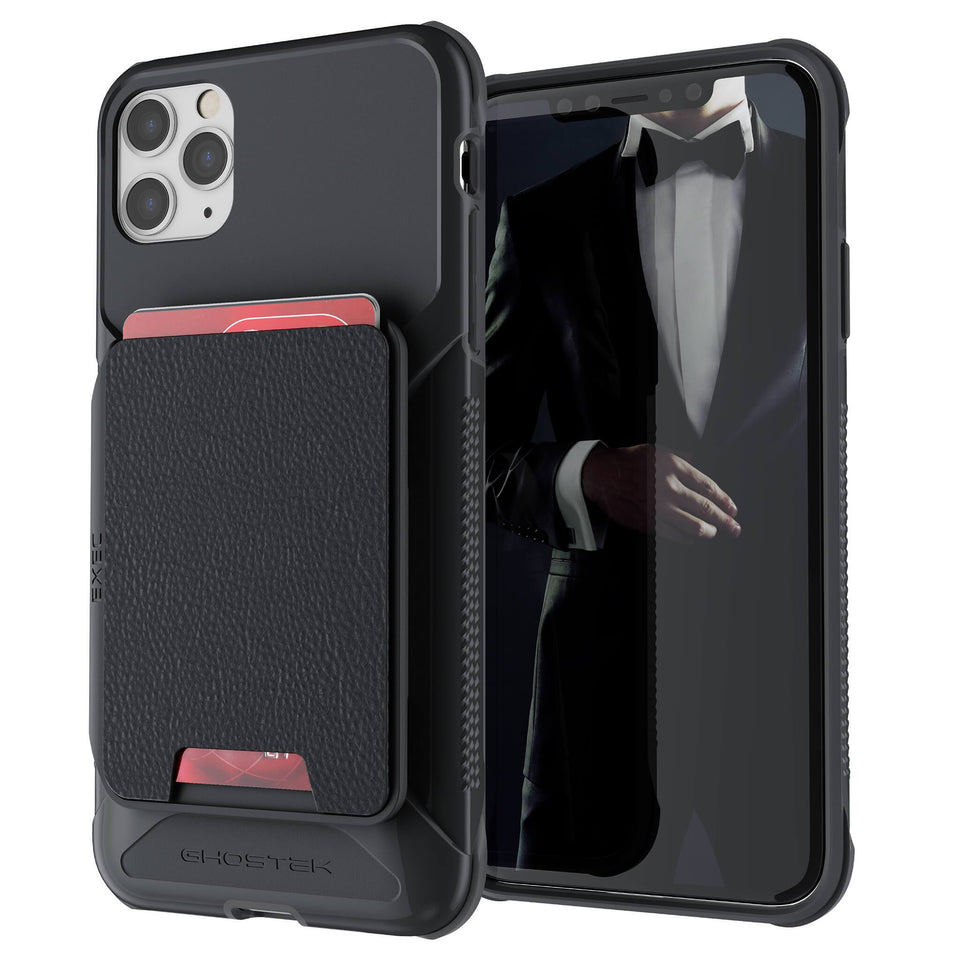iPhone 11 Pro Max Black Wallet Case