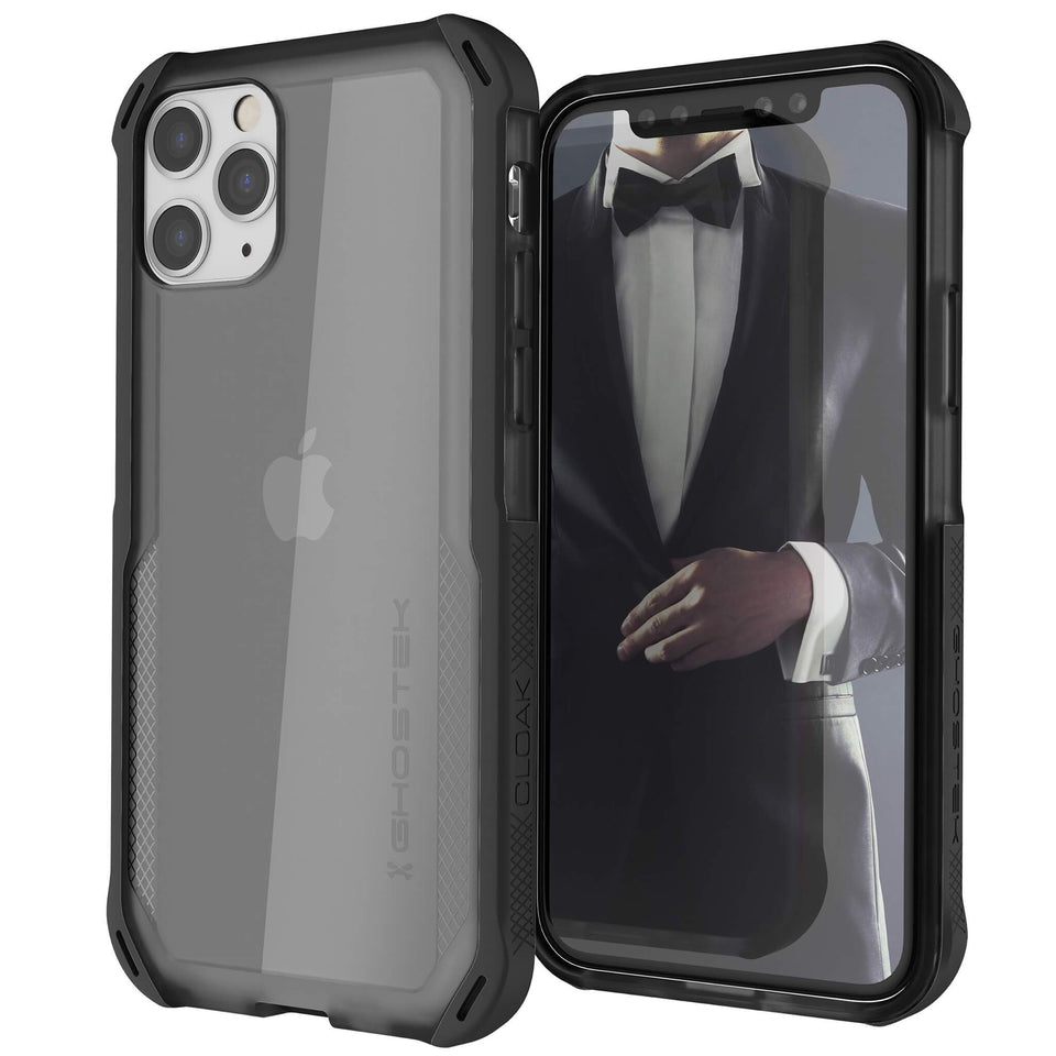 iPhone 11 Pro Max Clear Black Phone Case