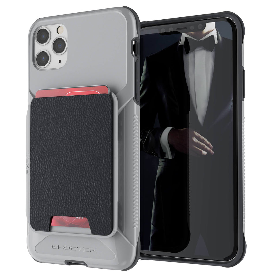 iPhone 11 Pro Max Gray Wallet Case