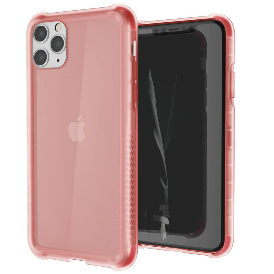 iPhone 11 Pro Max Pink Clear Phone Case