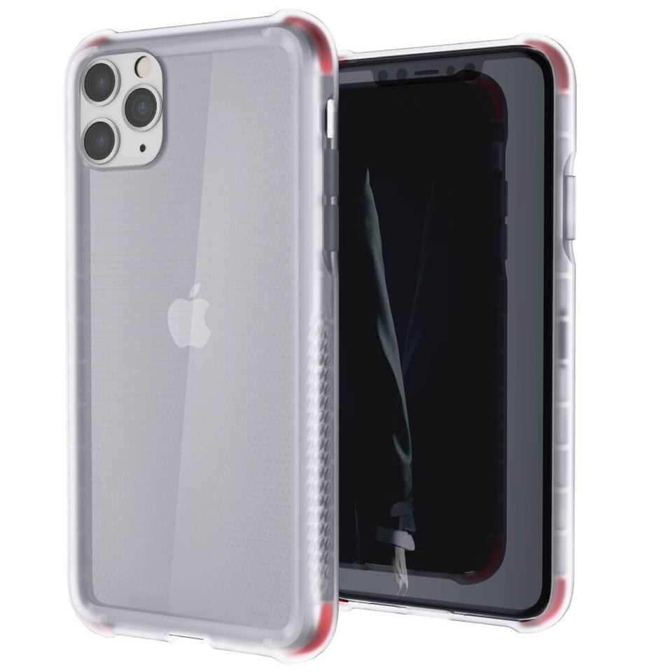 iPhone 11 Pro Max Red Clear Phone Case