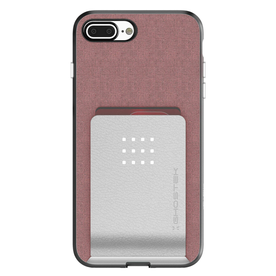 iPhone 8 Plus Pink Wallet Case