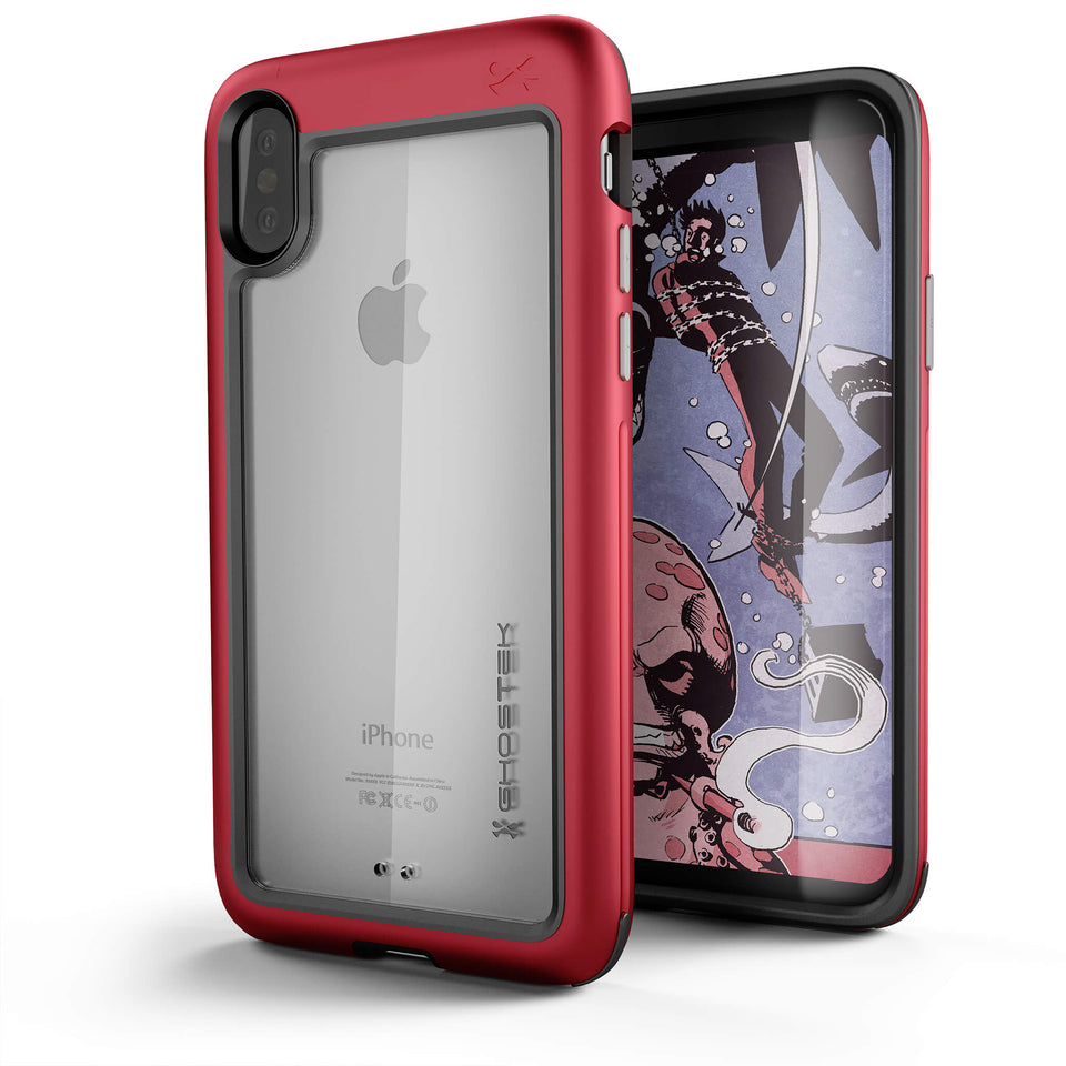 ATOMIC SLIM Case For iPhone X