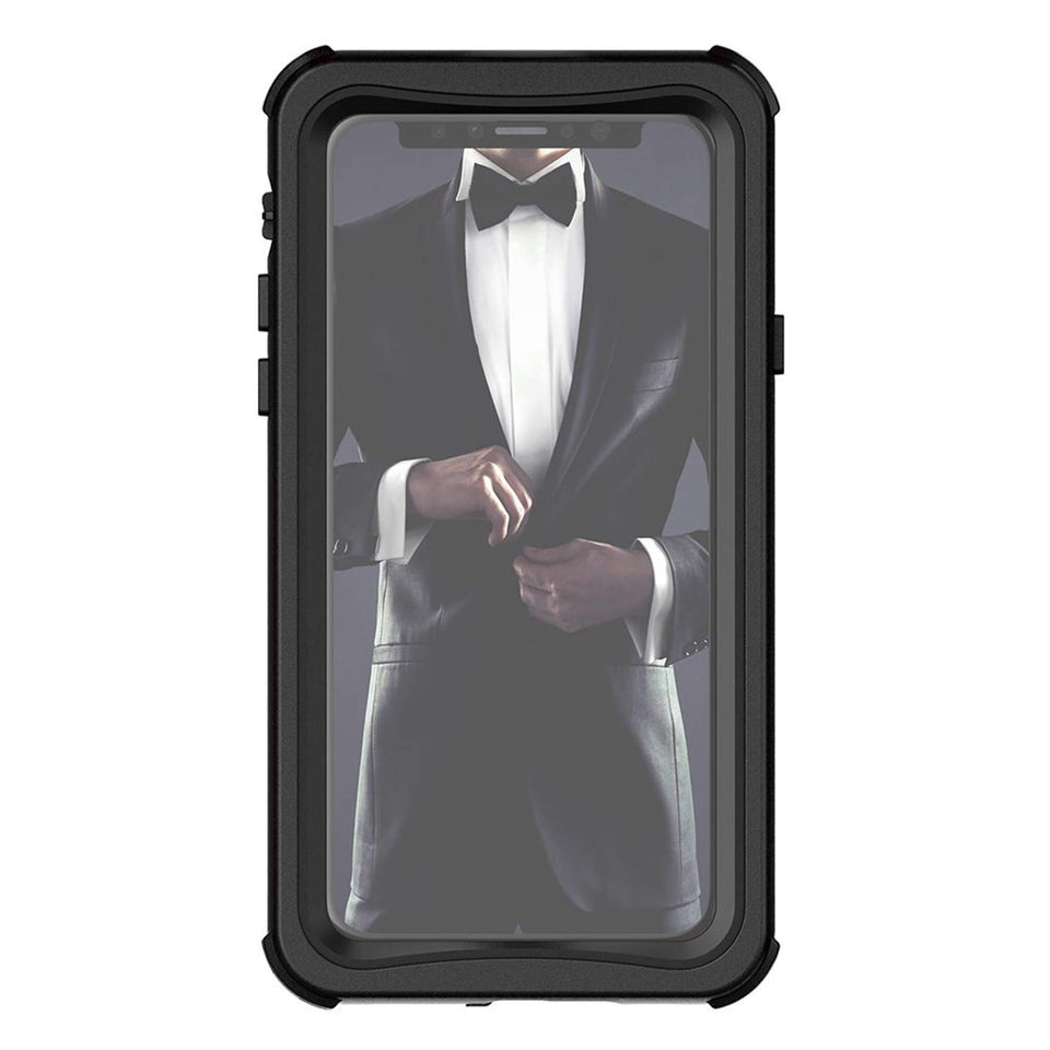 iPhone XS Black Waterproof Case