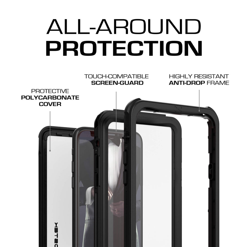NAUTICAL WATERPROOF Cases for iPhone XR / XS Lineup
