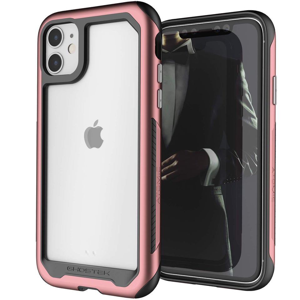 iPhone 11 Pink Metal Case