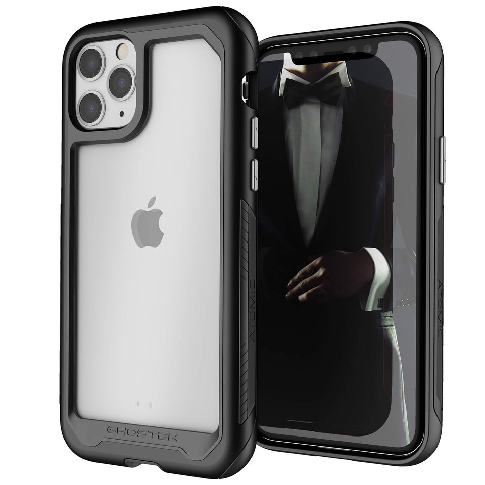 iPhone 11 Pro Max Black Metal Case