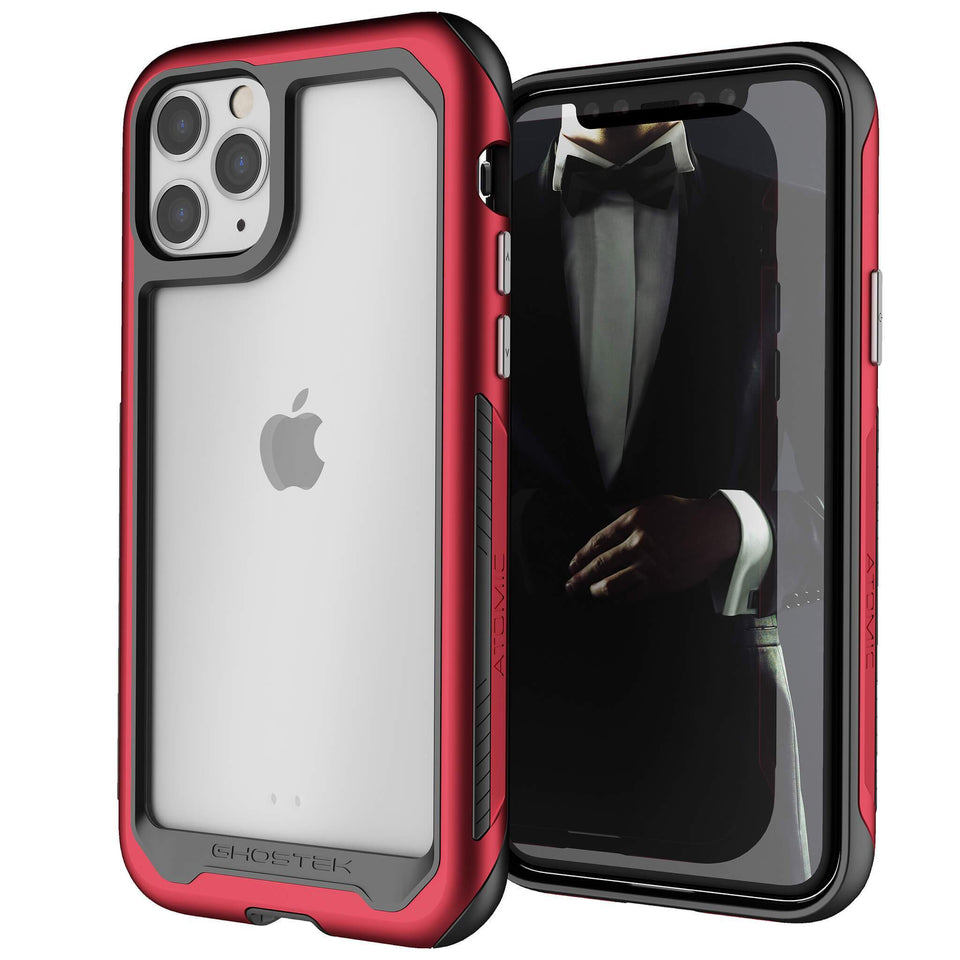 iPhone 11 Pro Max Pink Metal Case