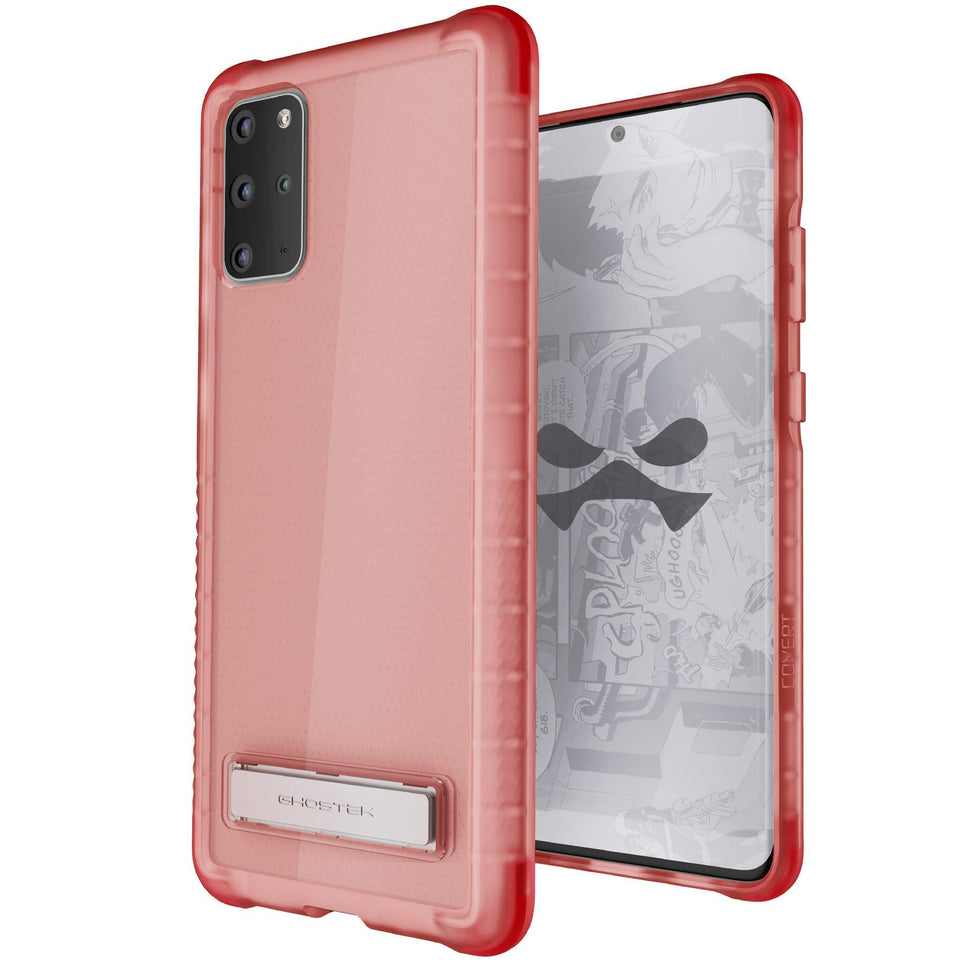 Galaxy S20 Plus Pink Kickstand Case
