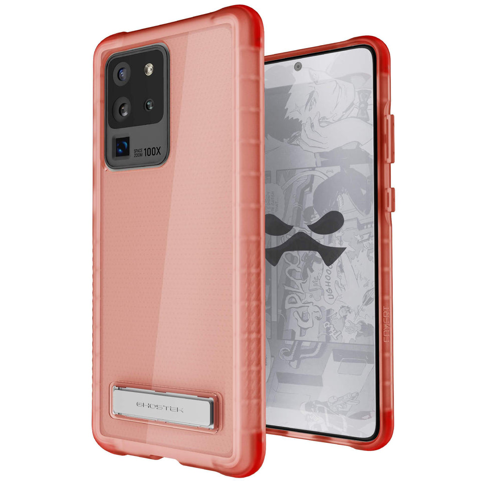 Galaxy S20 Ultra Pink Kickstand Case