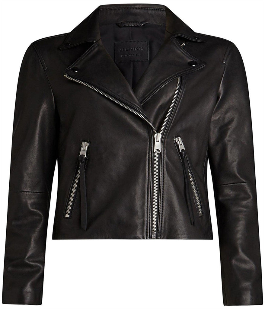 DALBY BIKER LEATHER JACKET