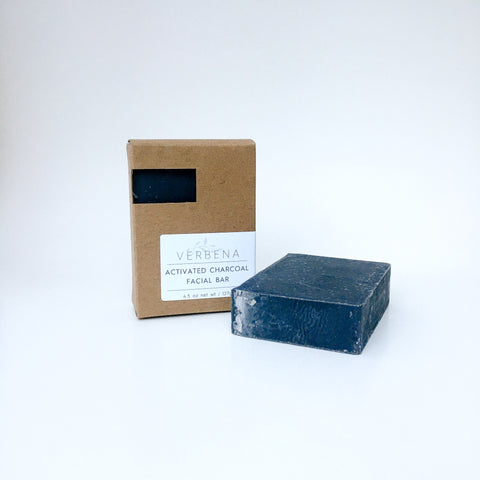 Activated Charcoal Face Bar