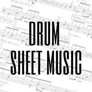 Dolly Parton - Islands In The Stream (Drum Sheet Music)