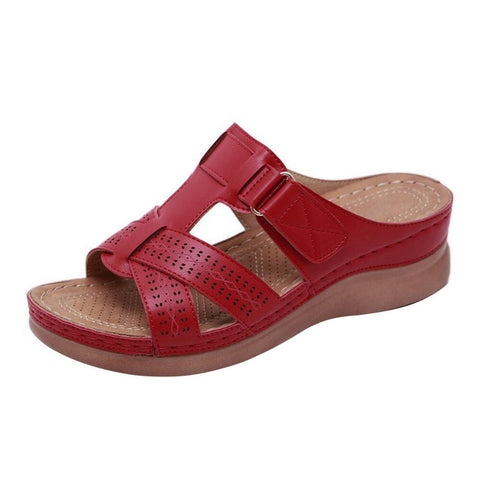 Women Summer Open Toe Comfy Sandals