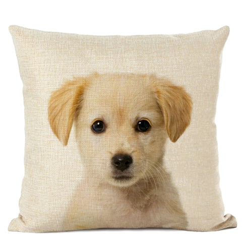 Cute Baby Animals Cushion Cover