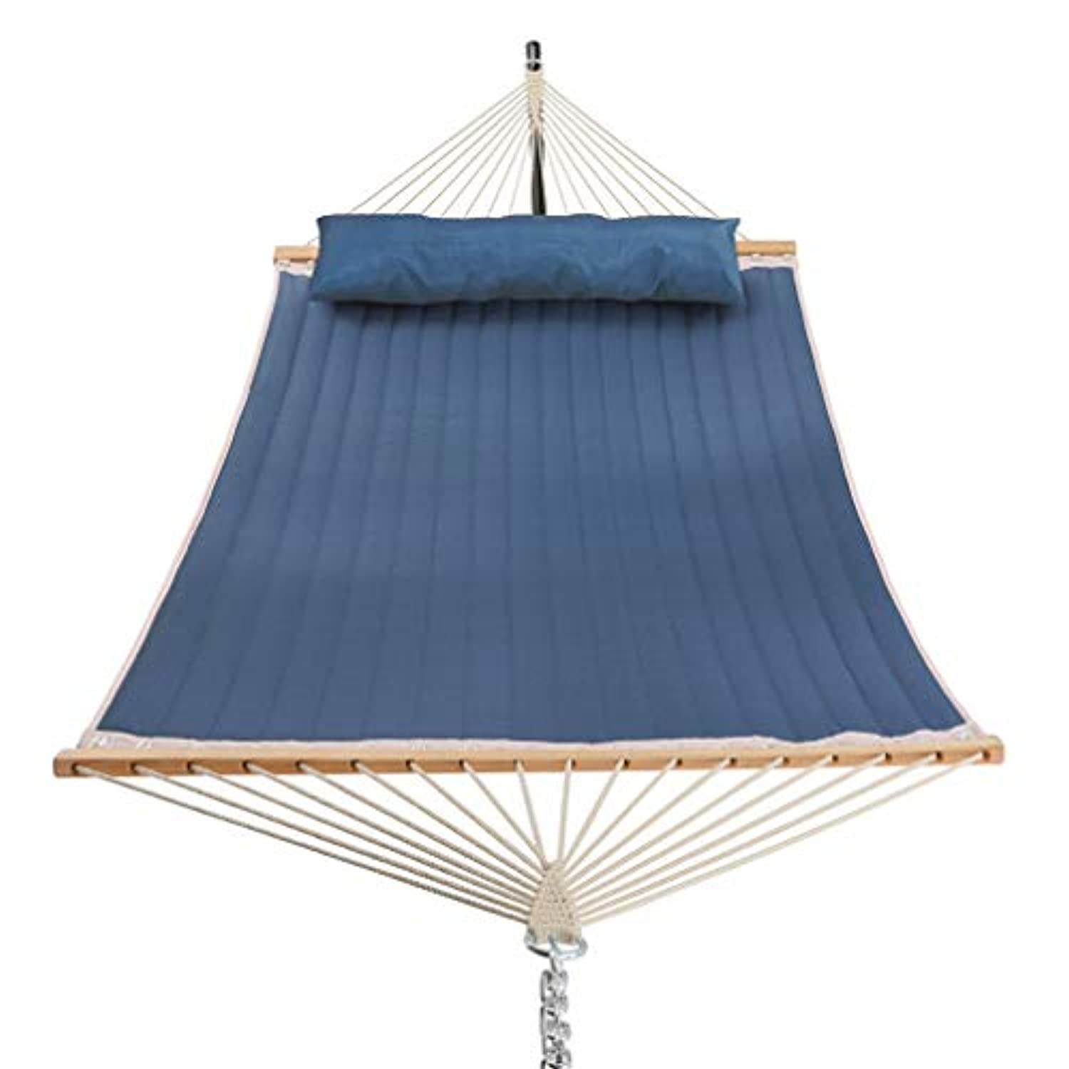 11 Feet Quilted Fabric Hammock with Pillow