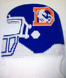 Denver Broncos NFL Game Face Knit Helmet Hat Ski Mask
