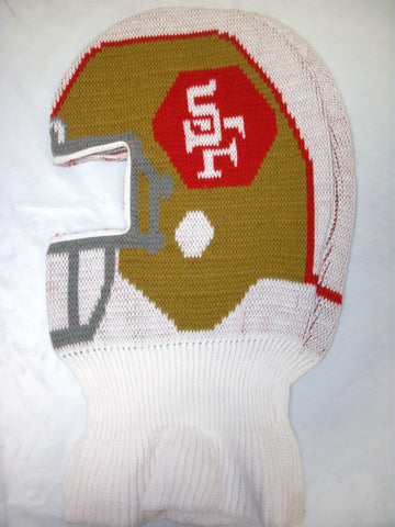 San Francisco 49ers NFL Game Face Knit Helmet Hat Ski Mask